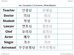 occupations u2013 fresh korean