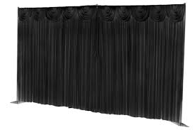 Black Backdrop Curtains Affordable Lightup Backdrop Curtains Drapes Hire Black White
