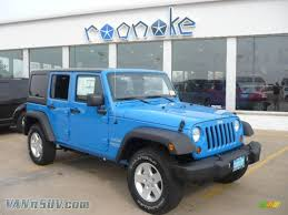 jeep wrangler blue 2011 jeep wrangler unlimited sport 4x4 in cosmos blue 530554