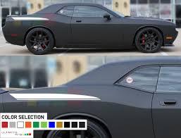Dodge Challenger Colors - dodge challenger bottom line stripes sticker decals side of the