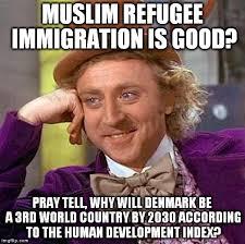 Denmark Meme - creepy condescending wonka meme imgflip