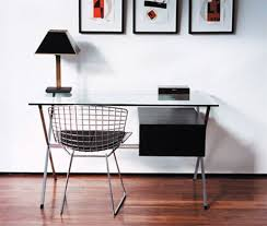 Wire Desk Chair Fine Mod Imports Bertoia Style Wire Side Chair