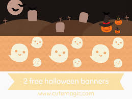 halloween banners u2013 cute magic