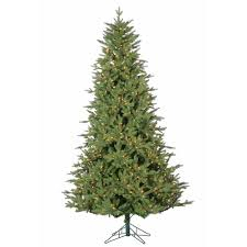 artificial christmas trees on sale bedford pine instant glow power pole pre lit artificial christmas