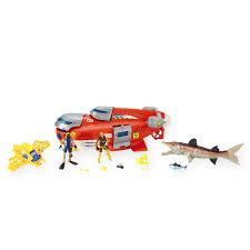 Bathtub Submarine Toy Animal Planet Deep Sea Submarine Playset Colors Styles Vary