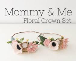felt flower headband baby child felt flower crown flower crown by alisonmichel