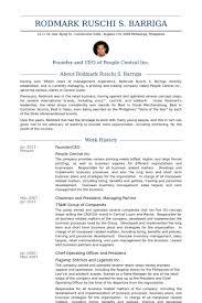 Ceo Resume Example by Founder Ceo Cv örneği Visualcv özgeçmiş örnekleri Veritabanı