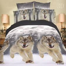 Bedding Set Manufacturers 3d Wolf Sheets Suppliers Best 3d Wolf Sheets Manufacturers China