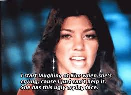 Kim Kardashian Crying Meme - the products kim kardashian uses to recover from an ugly cry