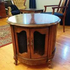 drum table for sale find more french provincial drum table end table liquor cabinet