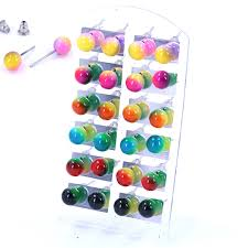 changing earrings free shipping cheap small earrings resin plastic