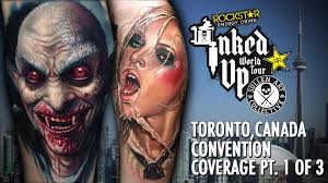 halloween costumes with tattoos rockstar energy inked up tour tattoo convention coverage toronto
