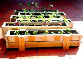 recycled pallet wood planters pallet planter box pallets and