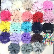 hair accessories wholesale 2 mini chiffon flowers chiffon flowers diy flowers wholesale