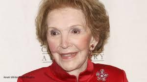 Nancy Reagan Program Former First Lady Nancy Reagan U0027s Funeral Set In Simi