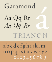 resume modern fonts exles of idioms in literature garamond wikipedia