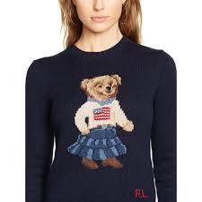 womens ralph sweater lyst polo ralph pima cotton sweater in blue