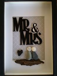 unique wedding presents unique wedding gift mr and mrs pebble wedding gift