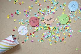 make your own save the dates confetti invitations template