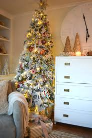 tree in our small family room nesting with grace