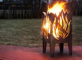 dragon fire pit fire basket fire pit flame witch or dragon shape design solid