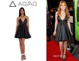 aq aq dresses thorne s aq aq sane v mini dress carpet fashion