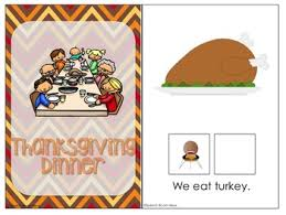 interactive vocabulary books thanksgiving by rayburn tpt