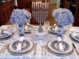 table setting french blue and white holiday table setting with toile