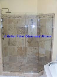 custom framed frameless glass shower doors online