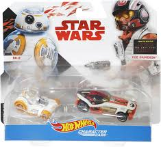wheels star wars episode 8 1 64 scale character cars bb 8