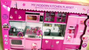 Deluxe Kitchen Play Set by Hello Kitty Deluxe Kitchen Toy Cooking With Elsa Disney Frozen