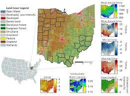 Ohio vegetaion images Spatial portfolio png