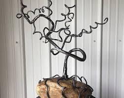 cattails metal sculpture garden statue blacksmith outdoor
