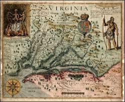 Jamestown Virginia Map Virginia Barry Lawrence Ruderman Antique Maps Inc