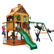 Playsets Outdoor Outdoors Sears Swing Set Gorilla Playset Walmart Playsets