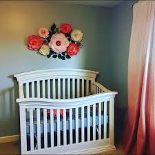 22 best Paper Flowers For A Baby Girl s Nursery Wall Decor images