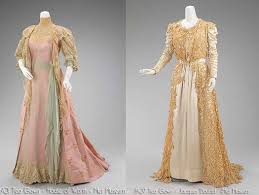 Victorian Time by Edwardian Tea Gowns Metropolitan Museum By 5pm You Would Then