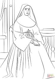 st marianne cope coloring page free printable coloring pages