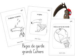 Pages de garde Cycle 2 le Loup  Schull  Pinterest  School