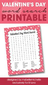 printable thanksgiving word searches valentine u0027s day word search print