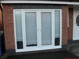 Garage Door Conversion To Patio Door Garage Door To Door Window Garage Conversion