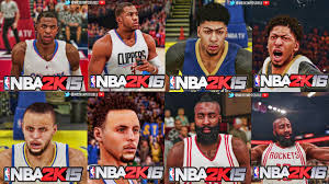 nba 2k16 xbox 360 walmart com nba 2k15 and nba 2k16 official face comparison trailer youtube