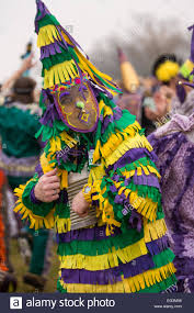 where to buy mardi gras masks revelers wearing traditional cajun mardi gras masks and costumes