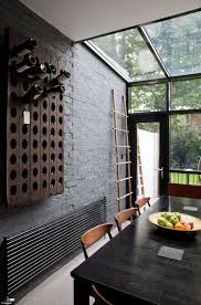 home wall design interior best 25 black brick wall ideas on white bricks photo