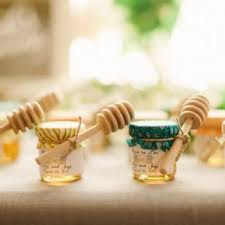 honey jar wedding favors honey weddings