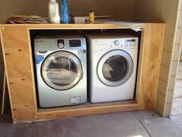 Washer And Dryer Cabinet Washer And Dryer Closet Outdoor Roselawnlutheran