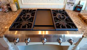 Gas Cooktop Vs Electric Cooktop Good Looking Selecting Cooktop Griddle For Your Chicago Home