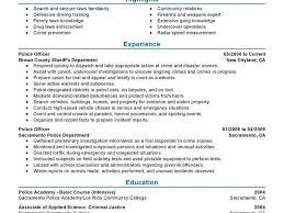 police chief resume sample dispatcher resume sample template