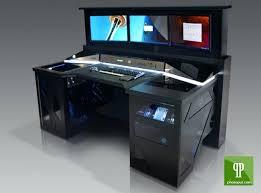 Personal Computer Desk Ergonomic Gaming Desk Amazing Black Gaming Computer Desk Ergonomic