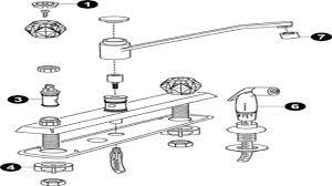 Kohler Kitchen Faucet Parts Diagram  Voluptuous - Kitchen sink faucet parts diagram